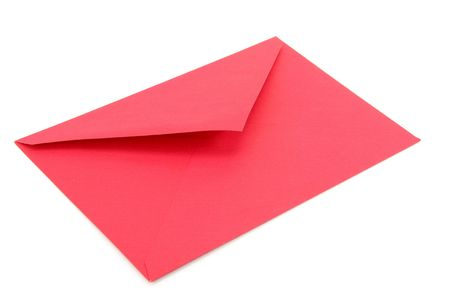red envelope, concept of communication Stock Photo