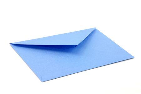 blue envelope, concept of communication