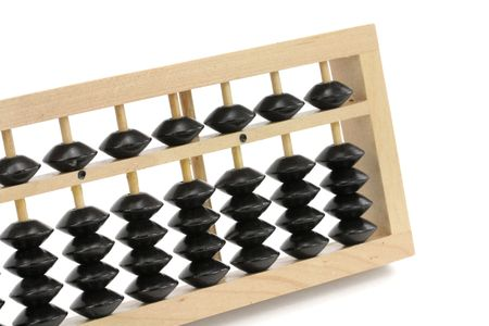 abaci: Abacus close up shot, financial concept Stock Photo