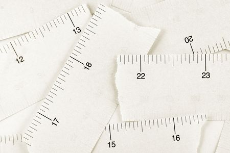 Tape Measure close up shot