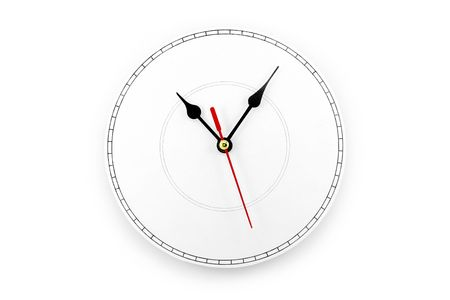 blank clockface, concept of time Stock Photo