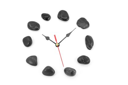 stone clockface, concept of time