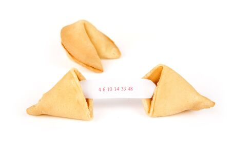 fortune cookie: Fortune Cookie with white background