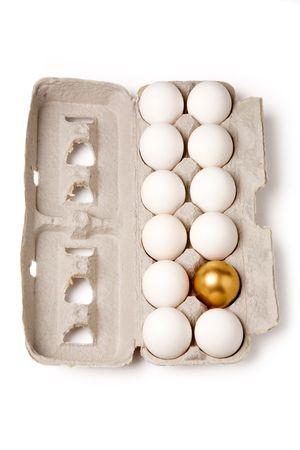 golden eggs: golden egg, concept of Making Money