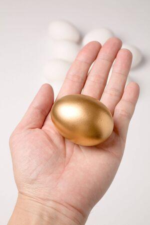 golden egg, concept of Making Money Stock Photo - 939316