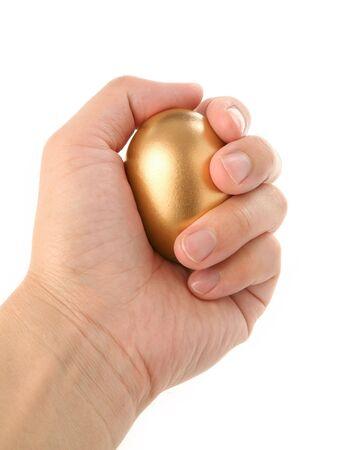 golden egg, concept of Making Money Stock Photo - 950293