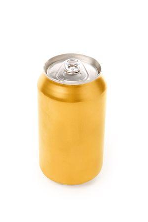 lata de refresco: de sosa en blanco puede con fondo blanco