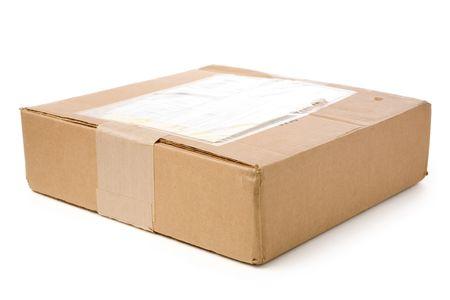 addressed: un pacchetto della posta con priorit� bassa bianca