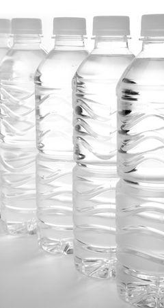 bottle water close up shot