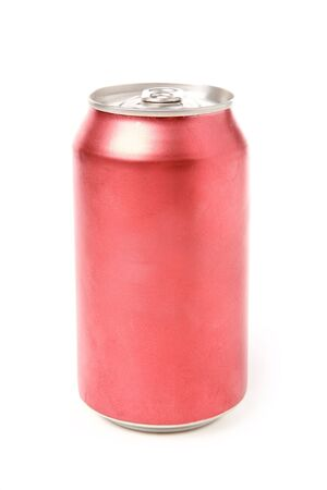 soda can: blank soda can with white background Stock Photo