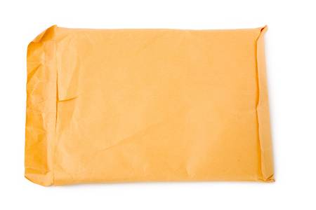 casing paper: big envelope with white background