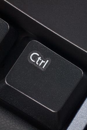 black computer keyboard close up photo