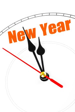 clock face, concept of New Year Stock fotó