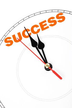 clock face, concept of success