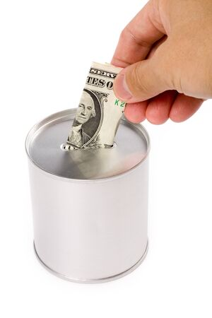 Coin Bank, concept of savings or Donation Stock Photo - 1439780
