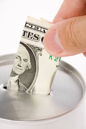 Coin Bank, concept of savings or Donation Stock Photo - 1470617