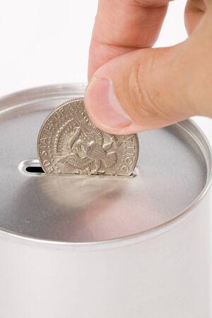 Coin Bank, concept of savings or Donation Stock Photo - 1505032