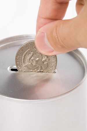 Coin Bank, concept of savings or Donation Stock Photo - 1505032