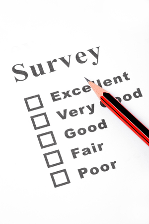 questionnaire close up shot Stock Photo - 1533970