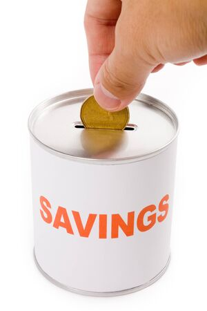 Coin Bank, concept of savings Stock Photo - 1545749