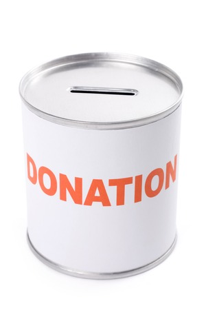 Donation Box, concept of Donation
