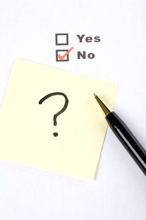 questionnaire and interrogation, business concept Stock fotó