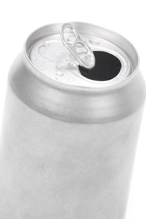 lata de refresco: una plata de sosa puede cerrar hasta tiros