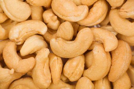 cashews close up shot for background