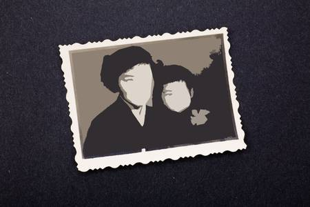 old stained photos, you can use the photo frame and put your photo in. Stok Fotoğraf - 2553808