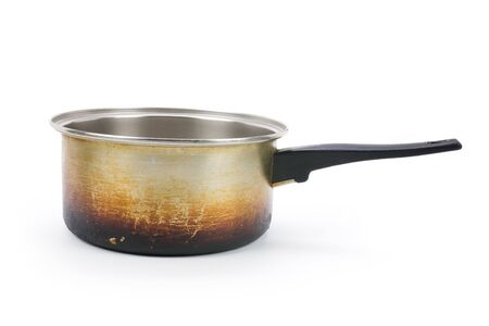 aluminium: aluminium pan with white background