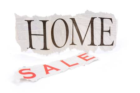 home for sale sign, Real Estate Marketing Concept