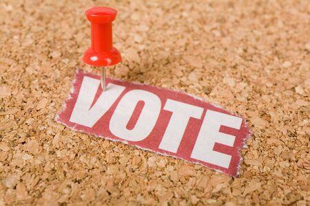 vote: Headline vote, concept of vote