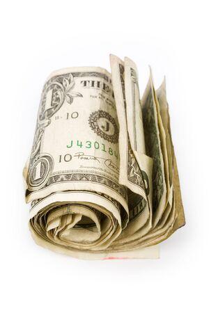 us dollars close up shot, financial concept