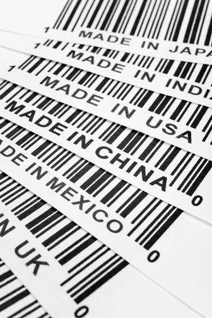 barcode, trade war, business concept Stock Photo - 2773654