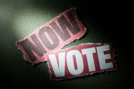 vote: Headline Now Vote, concept of vote