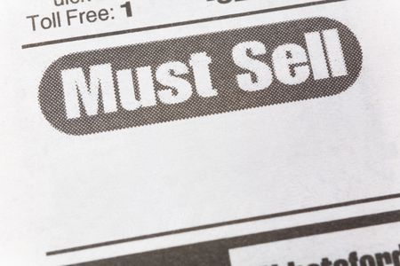 must: Must See, newspaper Sales ad,  Business concept