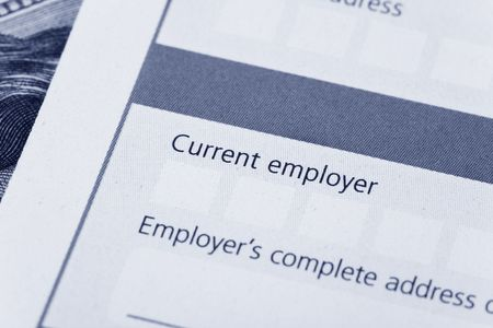 Career Opportunity form, Employment concept
