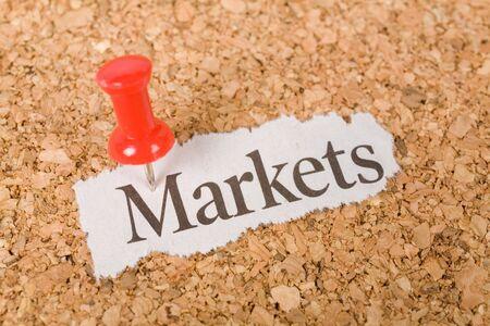 市場では、市場の概念を見出し