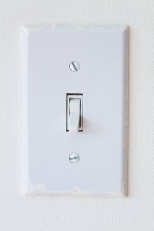 Light Switch close up shot,  Environmental Conservation