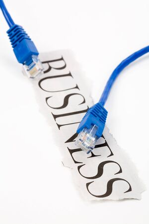 electronic commerce: cable with headline business, Electronic Commerce