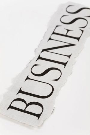 ビジネス、金融問題の概念を見出し