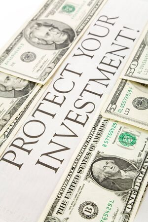 protect: headline of Protect your investment and us dollars