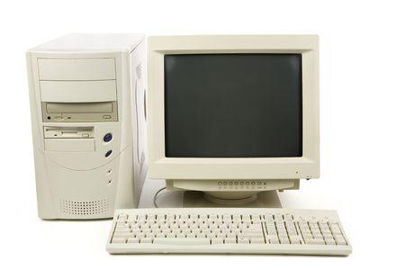 Desktop-Computer Nahaufnahme erschossen  Standard-Bild - 3118083