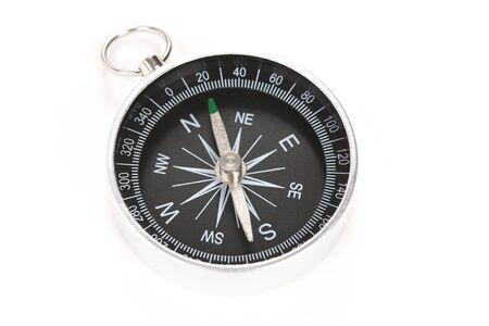 Black compass close up shot photo