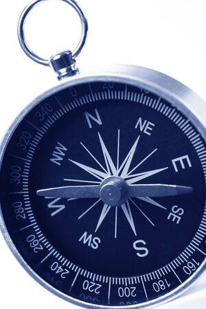a compass close up shot
