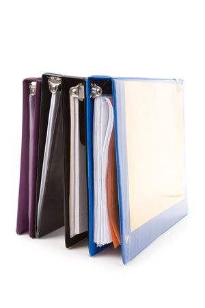 file folder, Ring Binder, with white background