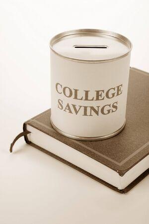 College Savings, Konzept der Einsparungen für die Hochschule Standard-Bild - 3502136