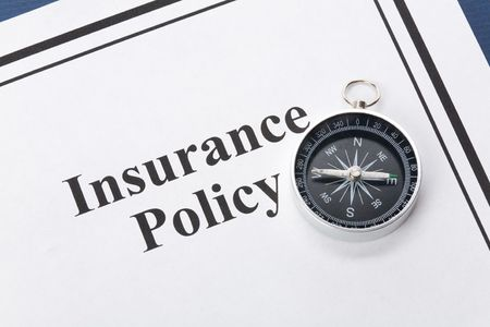 Document of Insurance Policy, Life; Health, car, travel,  for background 版權商用圖片 - 3502143