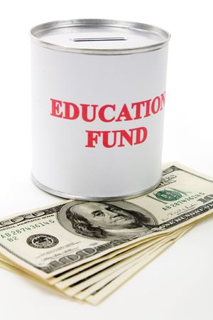 Education fund, concept of saving for college Stock Photo - 3521354