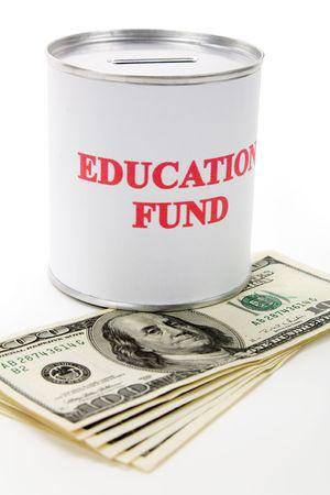 Education Fund, Idee des Sparens für Hochschule  Standard-Bild - 3521354